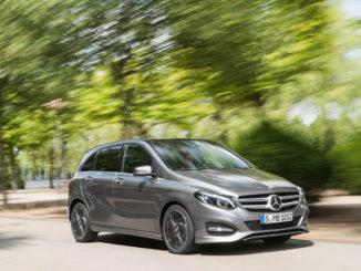 Seit 2011 baut Mercedes die zweite Generation der B-Klasse